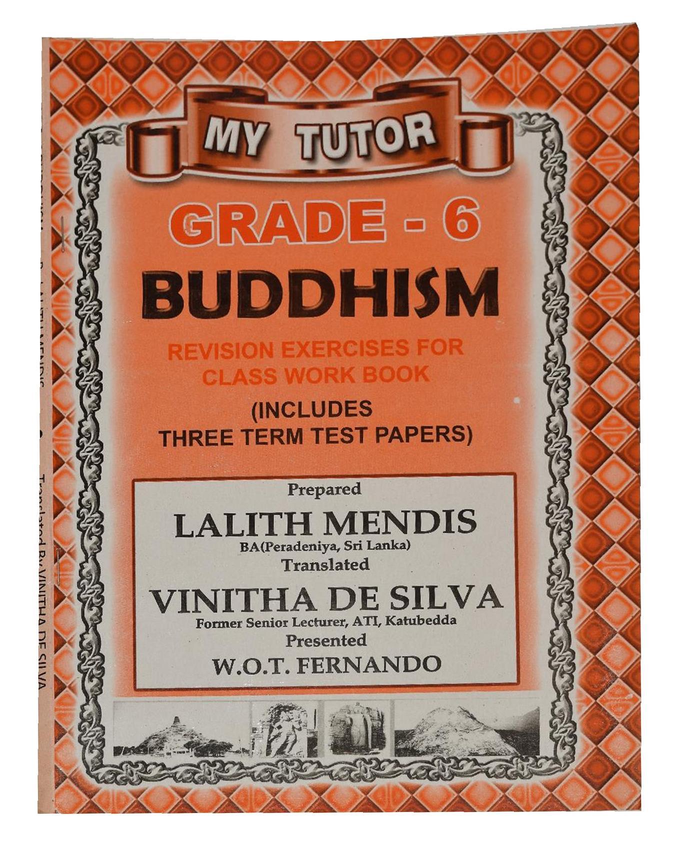 Buddhism Revision Book For Grade 6 - Sinhala Medium