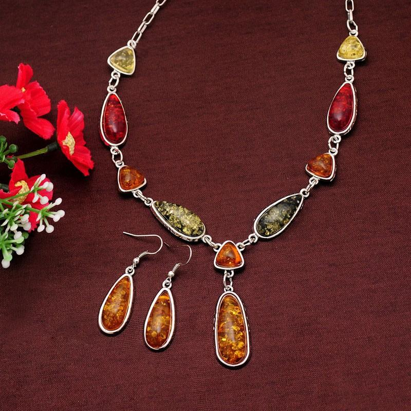 Combo Of Jewelry Sets Necklace + Earrings Wedding sets