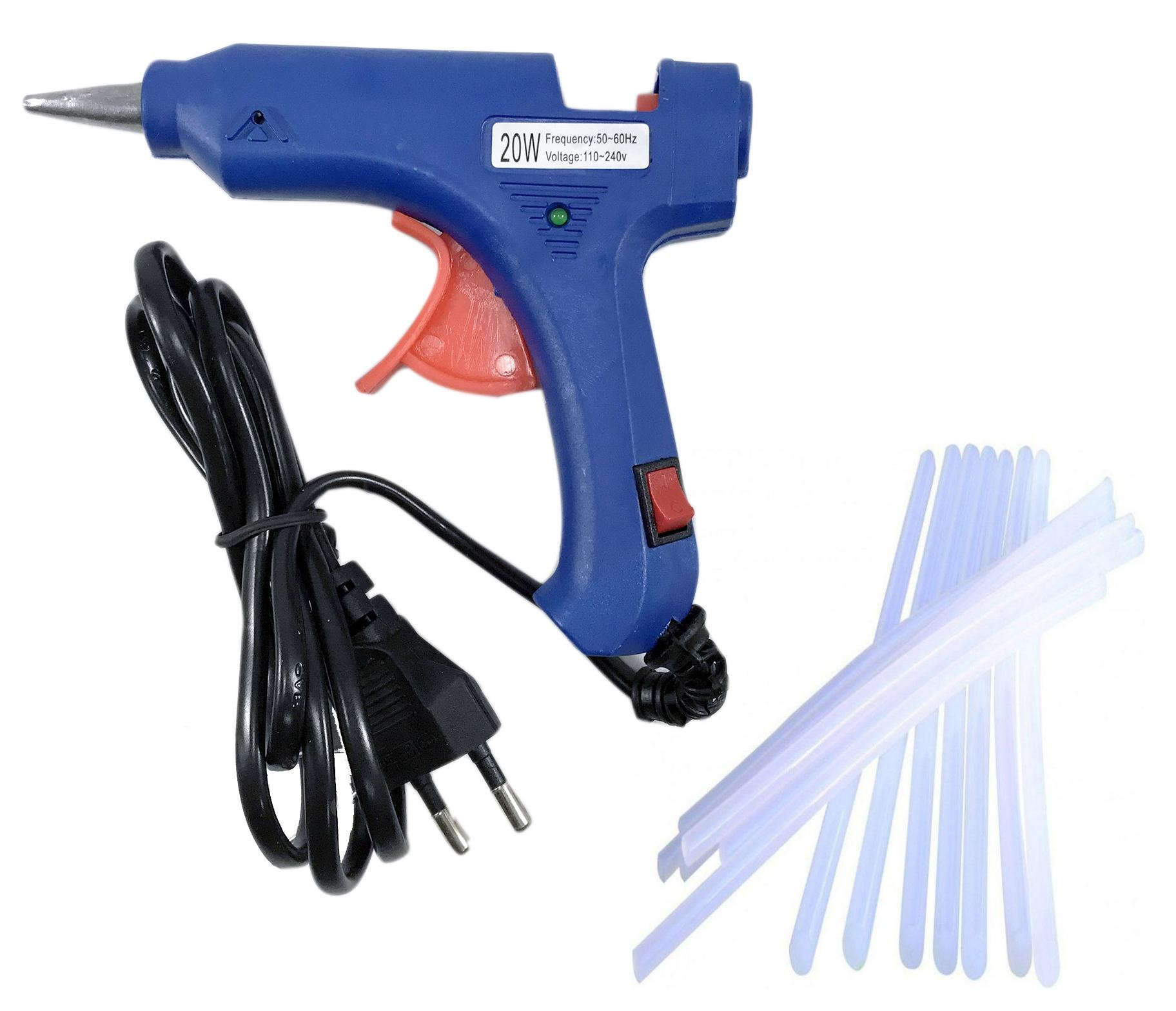 Electric Glue Gun 20W - With 20 Glue Sticks