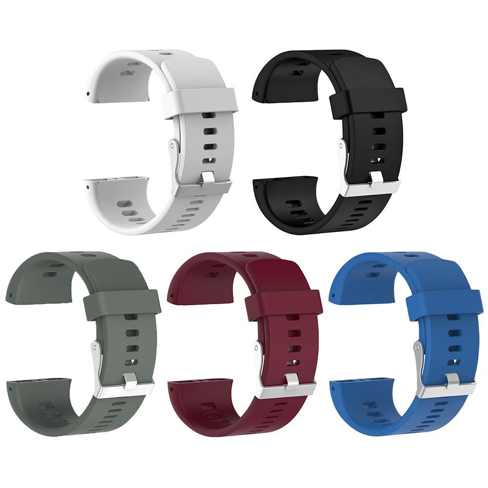 ALLOYSEED Sports Silicone Replacement Wristwatch Band for Polar V800 Smart  Bracelet