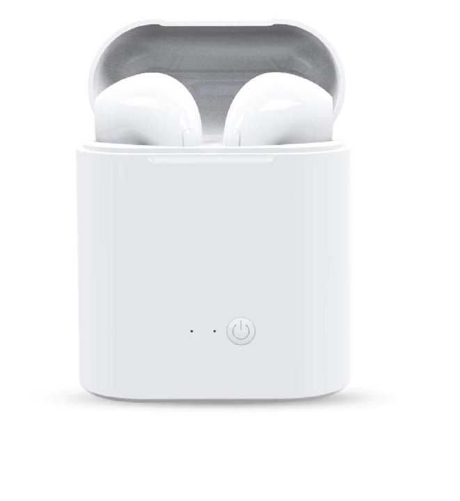 Best Selling Bluetooth Airpods i7S TWS Wireless Earbuds Headset with Charging Case Mini in-Ear Headphones Earphone with Mic