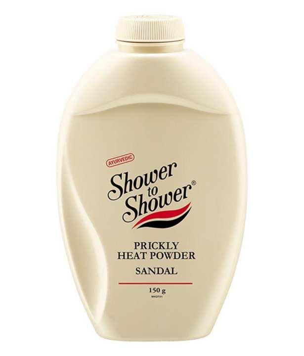 Ayurvedic Shower to Shower Prickly Heat Powder - Sandal 150g