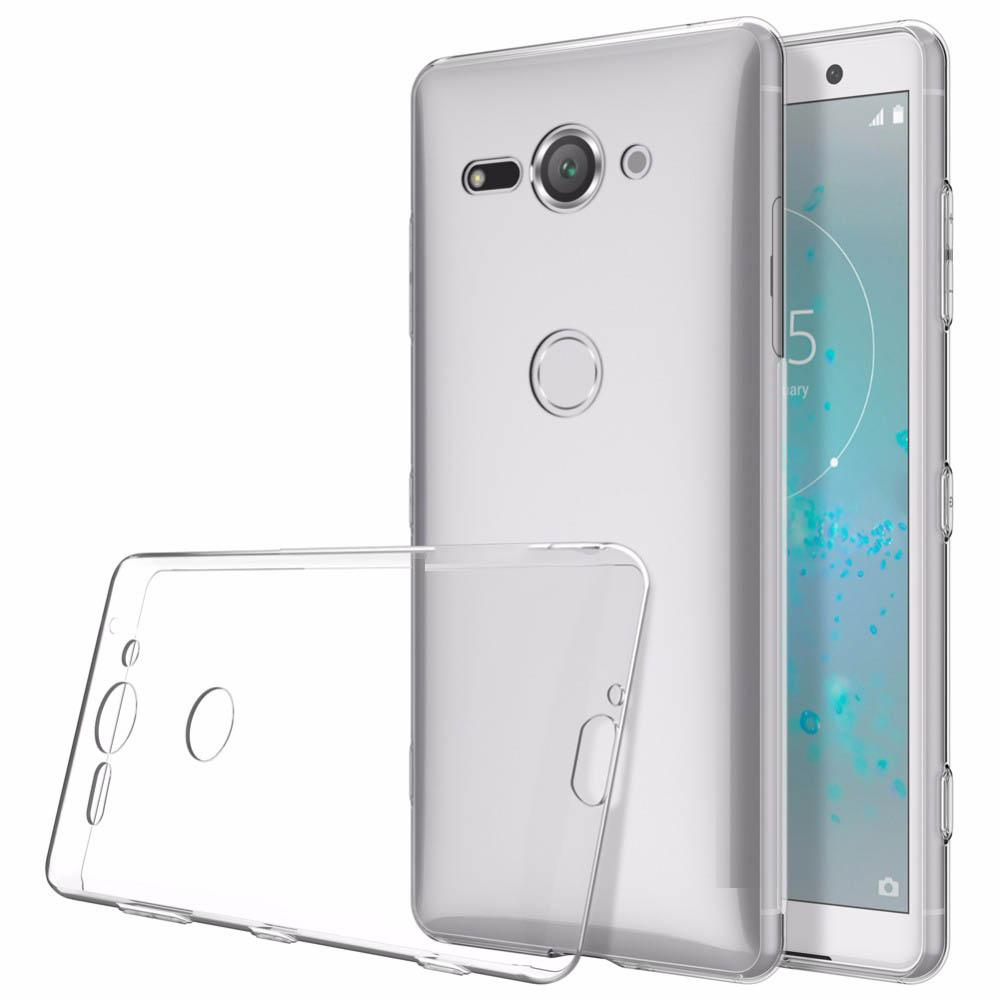 Naxtop TPU Ultra-thin Soft Case for Sony Xperia XZ2 Compact - Transparent