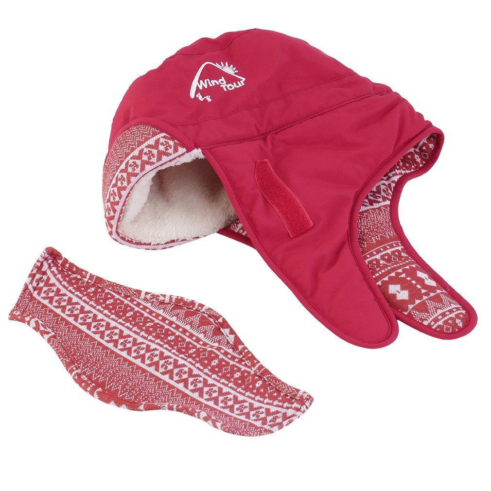 0c5fe1980 Fashion Unisex Warm Winter Cap Hat Lady Ear Flaps Ski Hats Earmuffs Mask