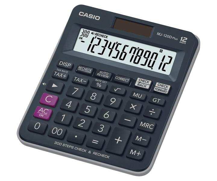 Casio Desktop - C & C Calculator JJ-120DPLUS