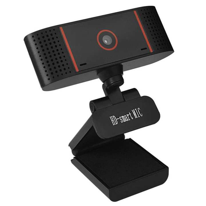 ALLOYSEED HD Video Recording 480P USB Camera Computer Laptop Rotatable Webcam w/ Mic
