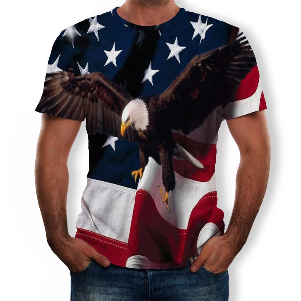 Rainbowroom 2019 Men T Shirt New Fashion Skull 3D Printed T Shirt Plus Size S-3XL Cool Printing