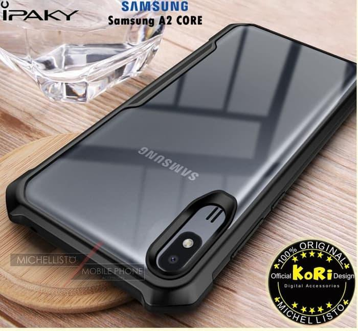 Samsung A2 Core Clear & Black Backcover
