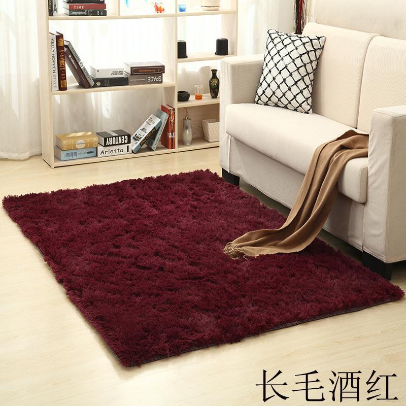 Thickened bath silk wool nonskid carpet sitting room tea table bedroom bedside yoga mat