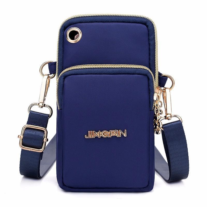 2018 new Korean mobile phone bag female Messenger bag mobile phone bag  hanging neck wrist coin 068b0385cd31f