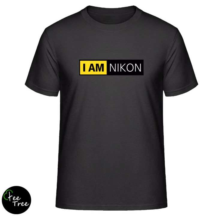"""I am NIKON"" tee for NIKON camera photographers T-Shirt"