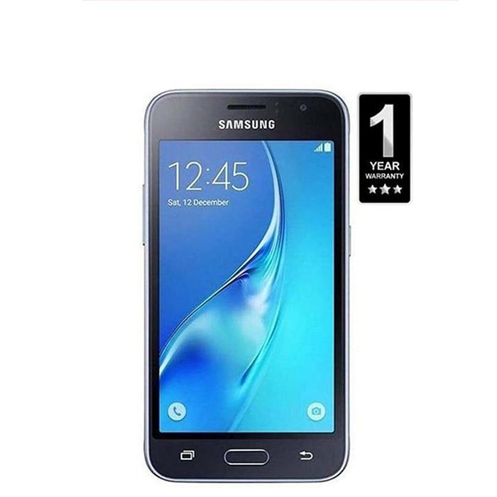 Samsung Galaxy J1 2016 - 1GB RAM - 8GB ROM – Black Softlogic Warranty