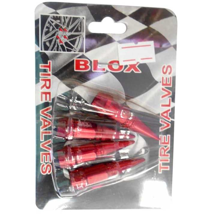 Boly Tire Valves - Red