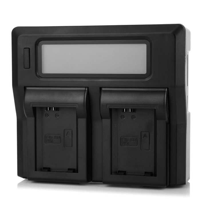"3"" LCD NP-FW50 Battery Charger for SONY NEX5C NEX5N A33 - Black (EU)"