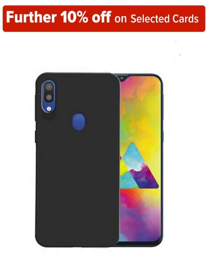 Soft Silicone TPU Back Cover for Samsung Galaxy M20