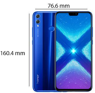 Honor 8X mobile phonePhysical Features
