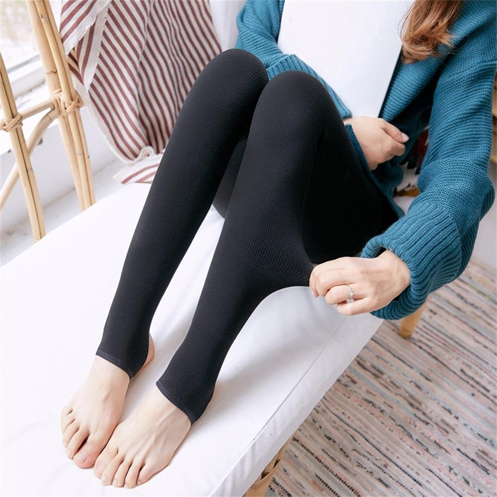 eb324520acd1e6 Top Deals New Pregnant Woman Leggings Thicken With Microfiber Clothes  Cotton Belly Pants High Waist Plus