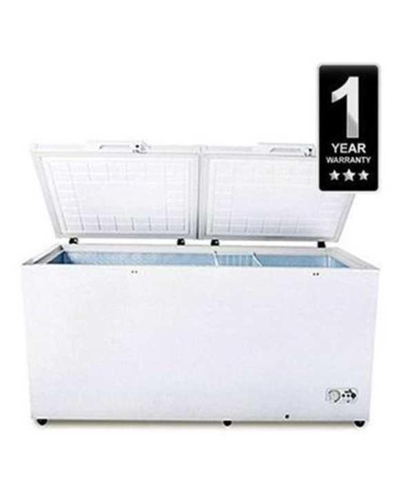 FC-94DD4HA Hard Top Double Door Chest Deep Freezer 725L