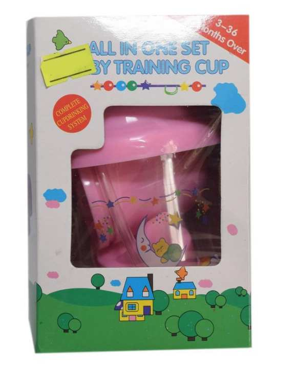 Mom&Me All In One Training Cup Set - Pink