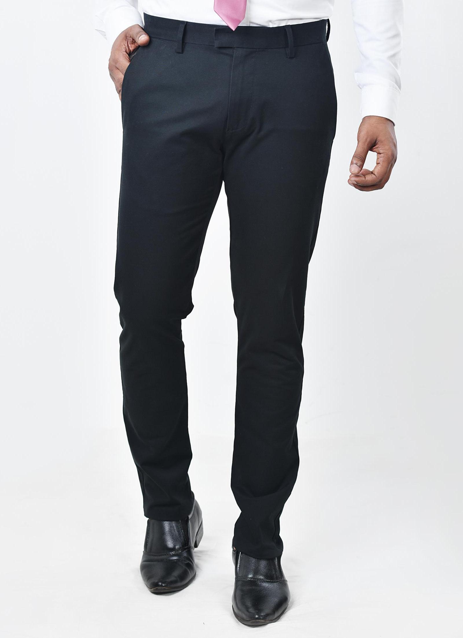 Moose Men's Comfort Chino Pant - Black