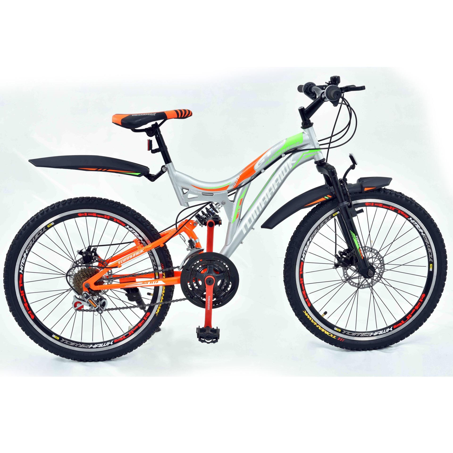 GT3 - Mountain Bike - Grey And Orange - 26""