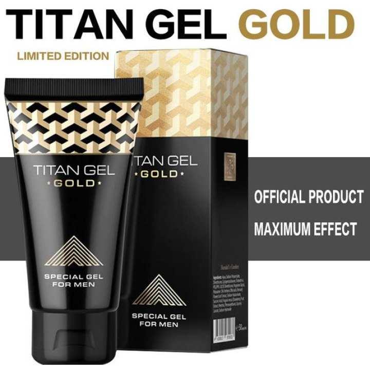 TITAN Gel Gold Special For Enlargement
