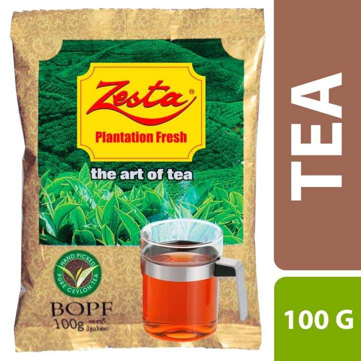 Zesta - Premium Tea 100g - Foil Pack - 12 Packs X 1 String