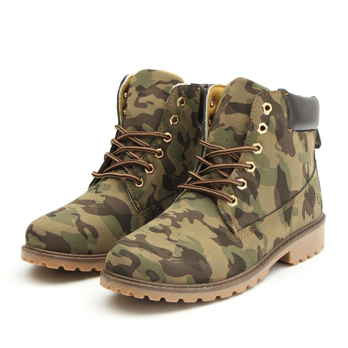de799a1c271 New Work Boots Women's Winter Leather Boot Lace up Outdoor Waterproof Snow  Boot