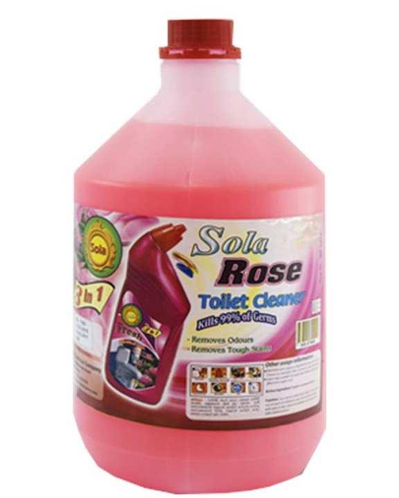 Sola Toilet Fresh Rose - 4L