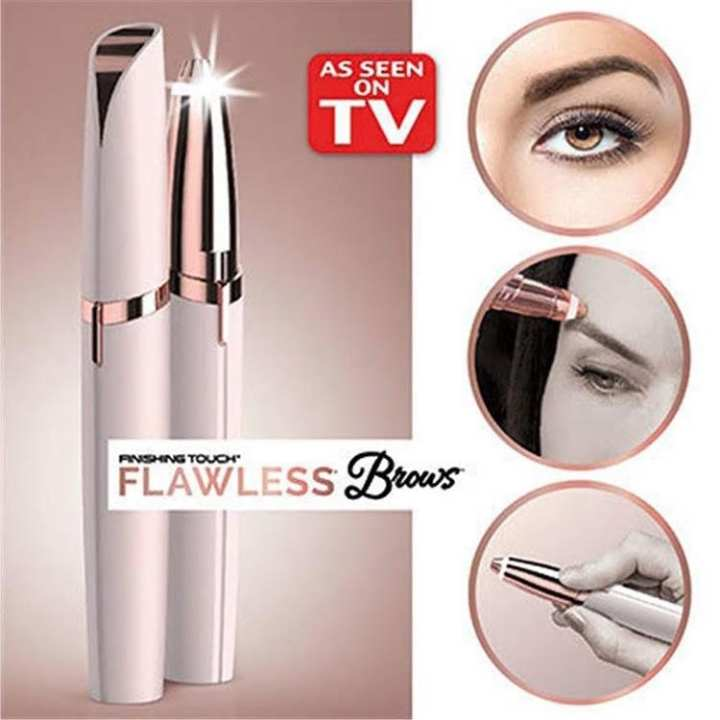 Hair Remover Finishing Touch Flawless Brows Electric Hair Remover