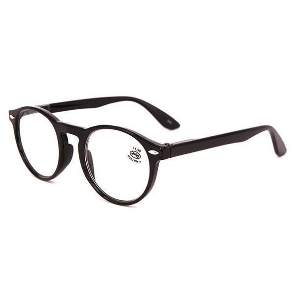 ac05773c109 300 Degree Unisex Light Round Retro Reading Glasses Fashion Clear Lens  Eyeglasses