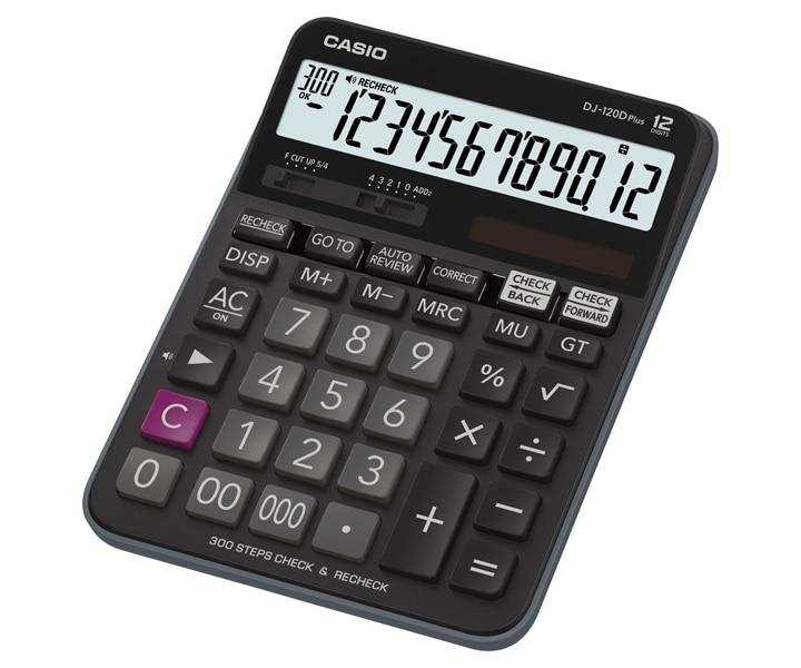 Casio Desktop - C & C Calculator DJ-120DPLUS