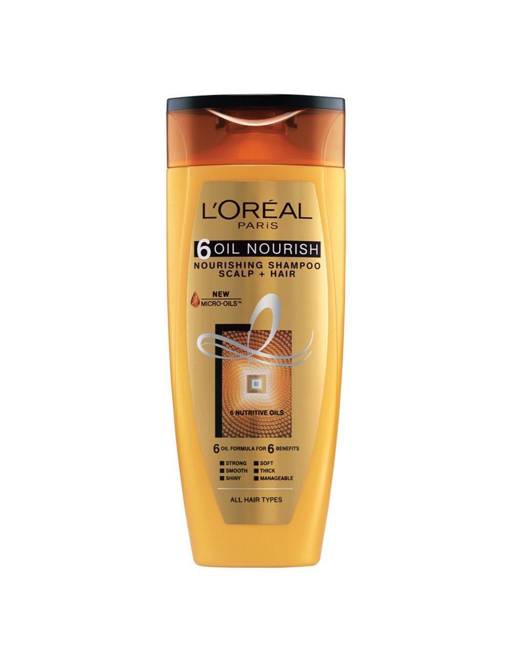 LOréal Paris 6 Oil Nourish Shampoo - 175ml