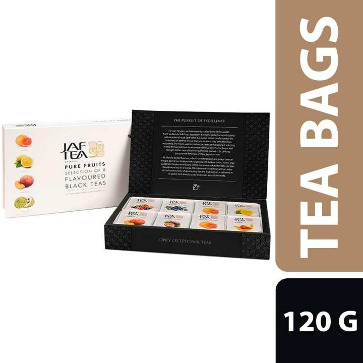 JAF TEA Pure Fruits Collection 80 FE - 120g