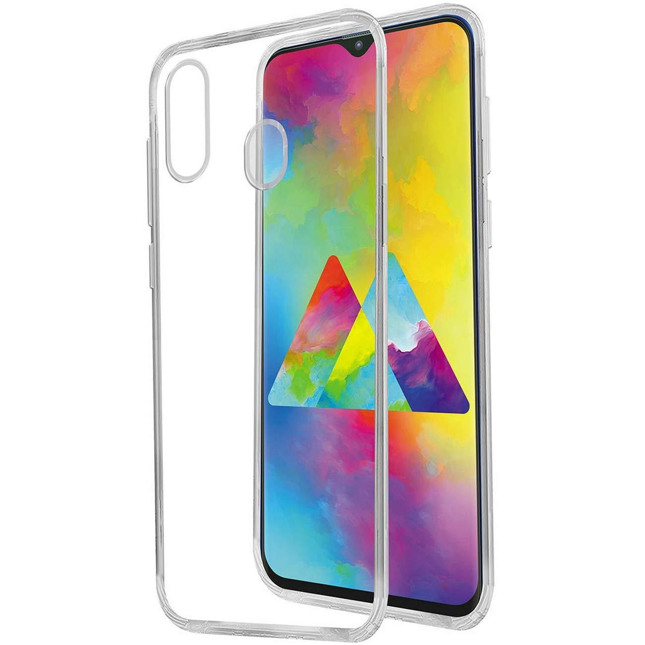 Transparent Back Cover for Samsung Galaxy M20