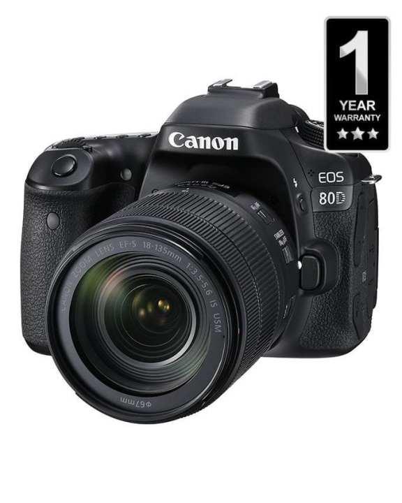 Camera - EOS 80D 18-135mm