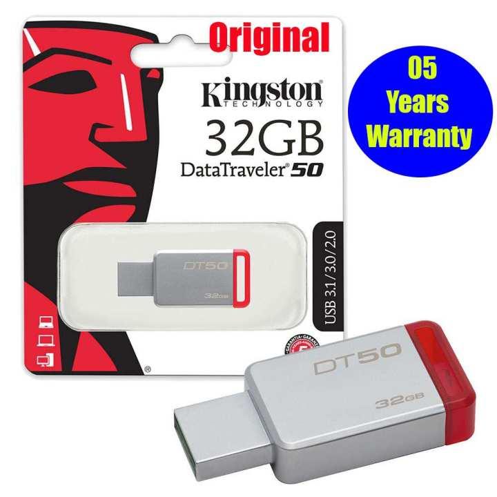 Kingston 32GB DT50 USB 3.1  Pen  Drive