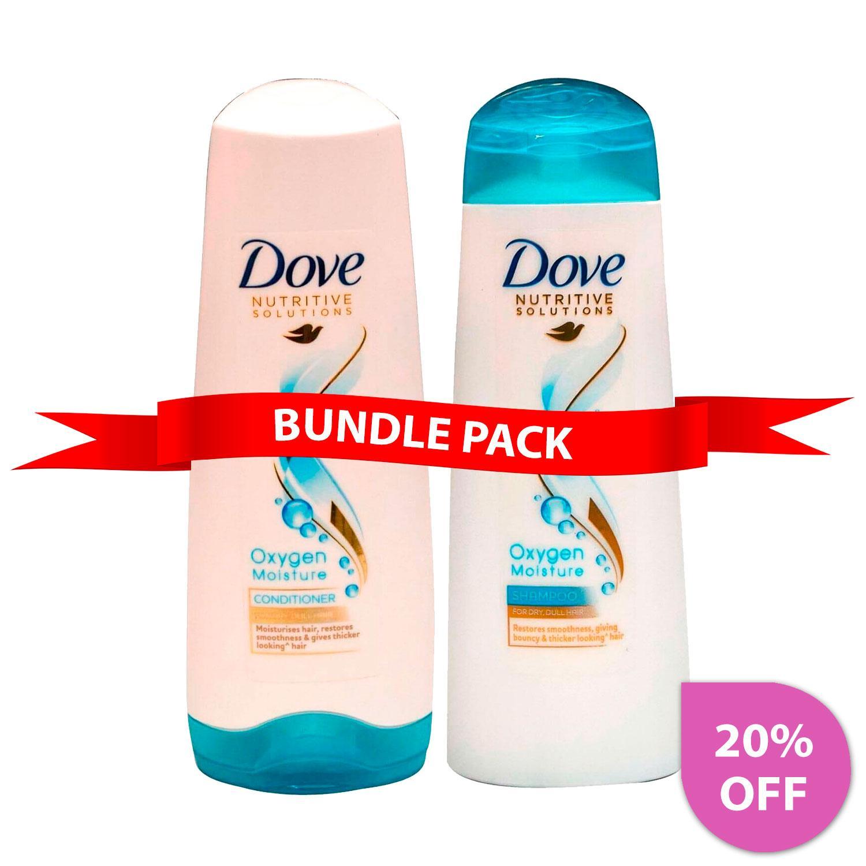 Dove Oxygen Moisture Shampoo & Conditioner 180ml - BP