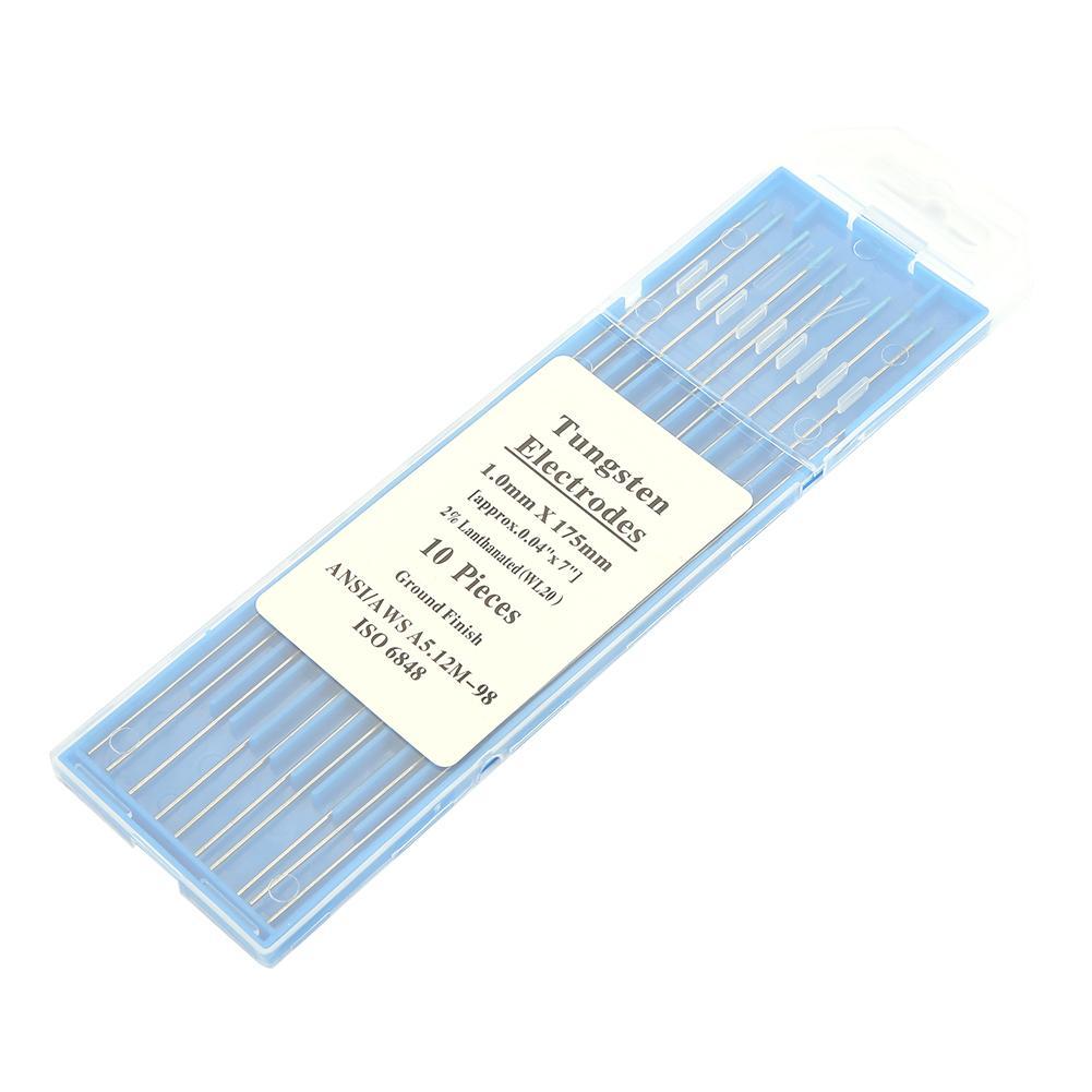 2.4mm*150mm 10x//box WL20 Tungsten Electrode Professional Tig Rod2.0/%Lanthanated