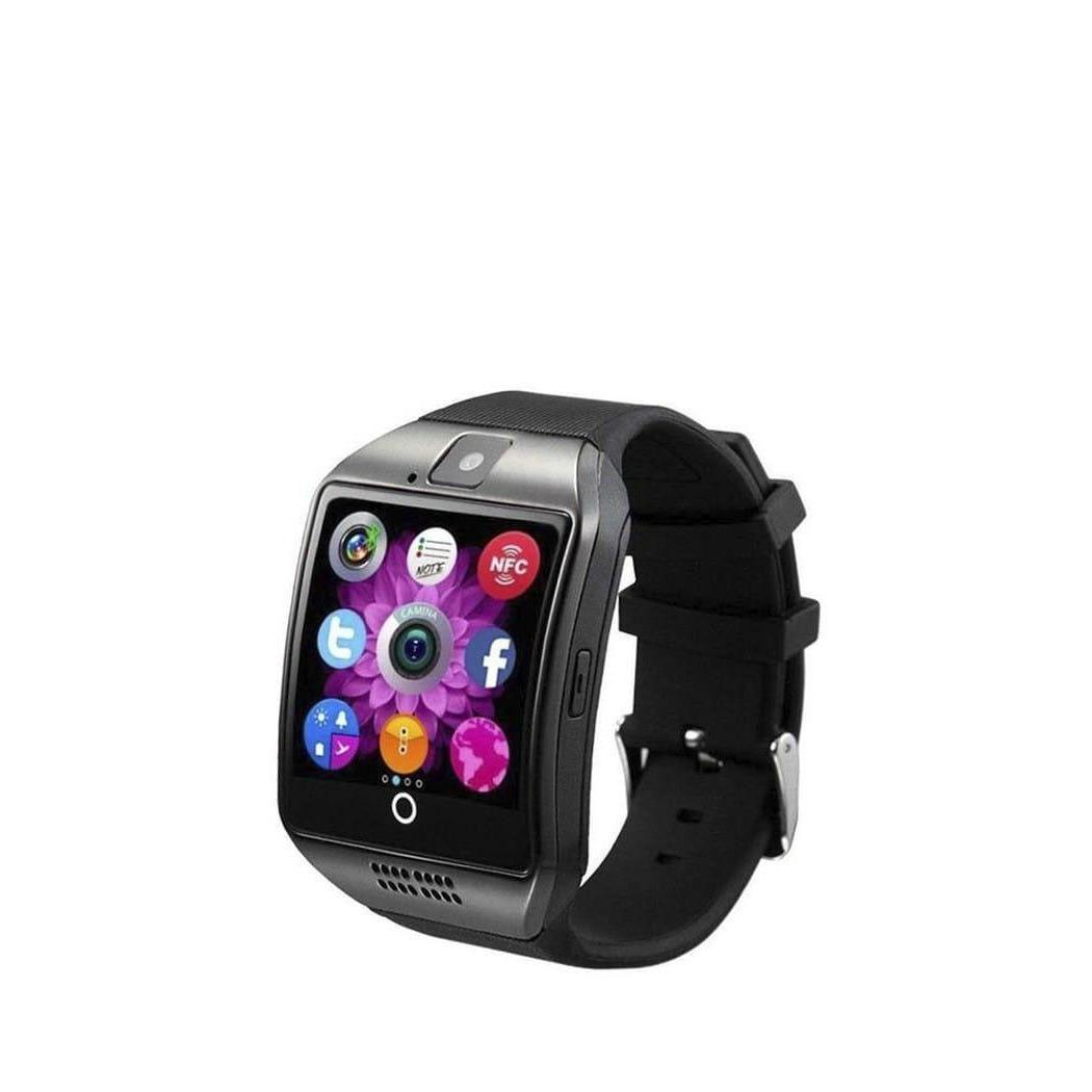 Q18S Smart Watch Bluetooth Sweatproof Phone with Camera TF/SIM Card Slot for Android and iPhone