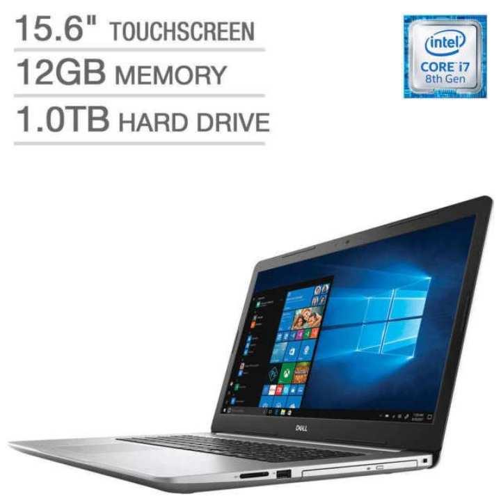 Dell Inspiron 5570 - 7814 Intel Core i7 1.8 / 4.0GHz (8550U)/12GB DDR4/1TB/DVD/RW+DL/15.6FHD Touch/Windows 10 Home