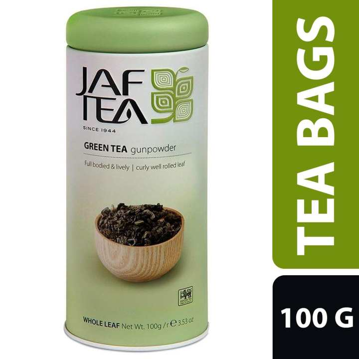 JAF TEA Gunpowder Green Tea - 100g
