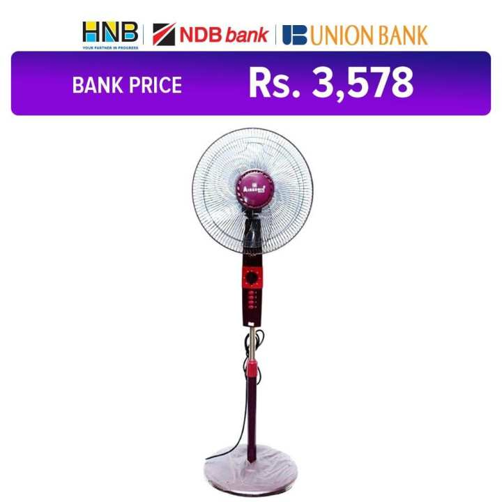 Breeze Pedestal Fan - Purple - TS380