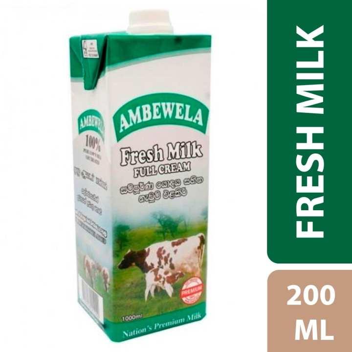 Ambewela Full Cream Fresh Milk - 200ml