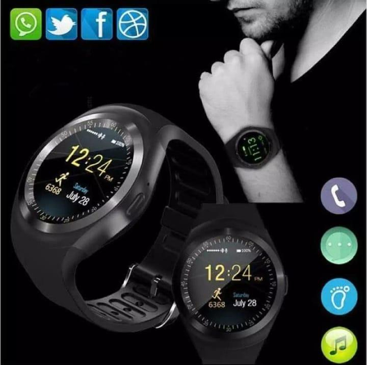 Smart Watch Y1 Support Nano SIM Card and TF Card