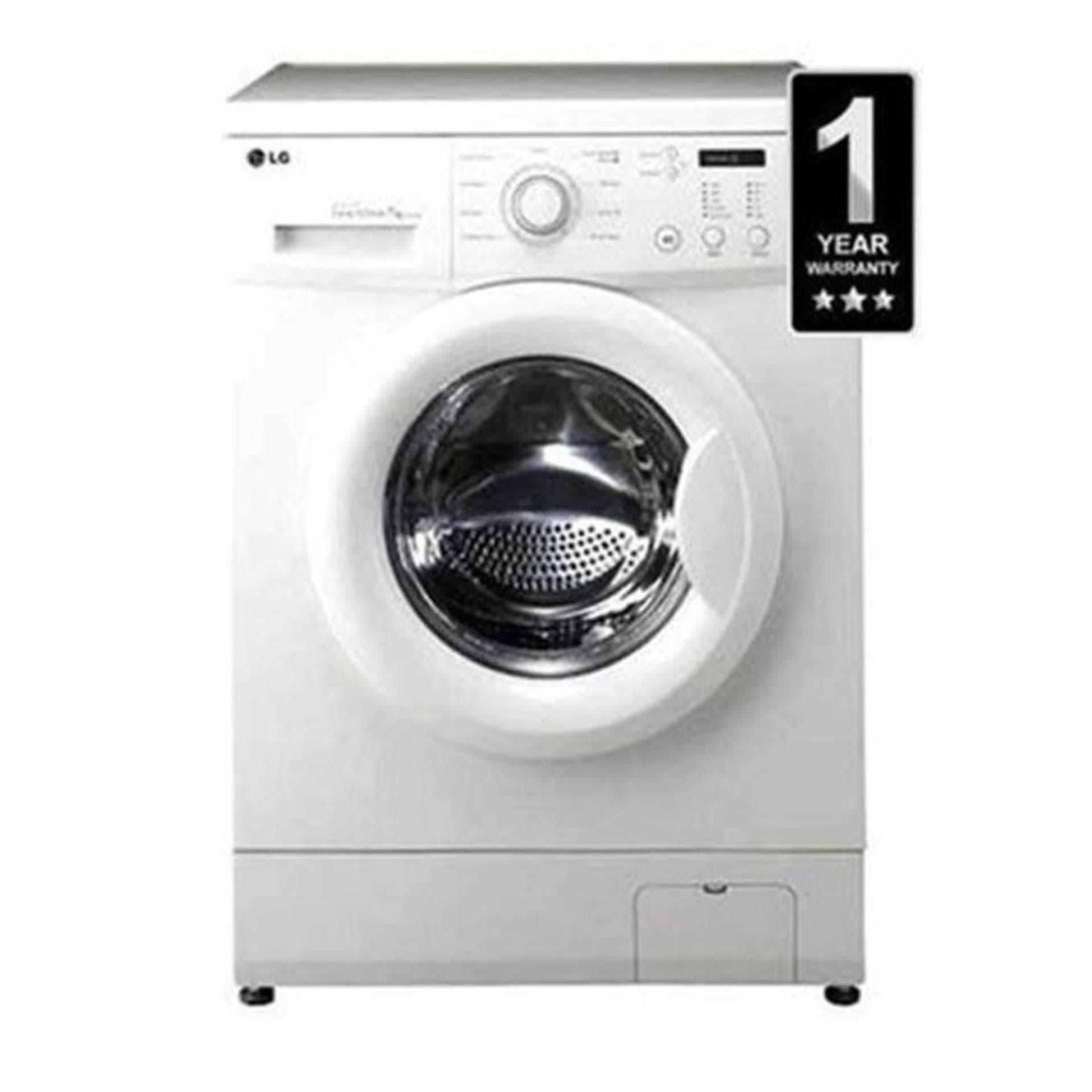 LG Fully Automatic Front Load Washing Machine - F1207NMTW-INVETER