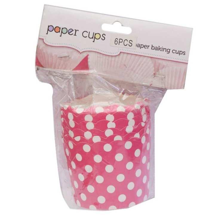 Hut El Paper Cups - Pink