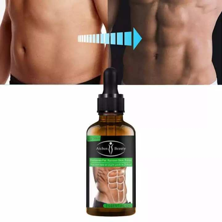 Eight Pack Oil Powerful Abdominal Muscle Essential Oil 30 ml