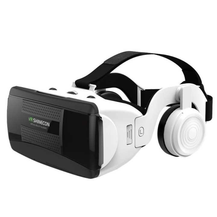 ALLOYSEED Digital Virtual Reality Goggles 3D VR Glasses Google Cardboard with Headset