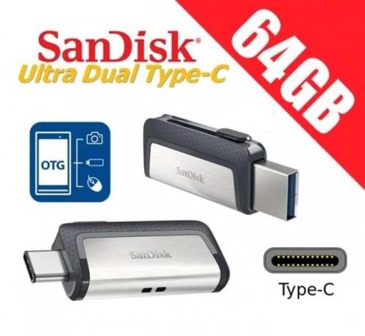 Sandisk 64GB Type C Pen Drive 150MB/s